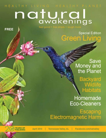 April 2014 By Natural Awakenings Magazine Tennessee Valley Edition