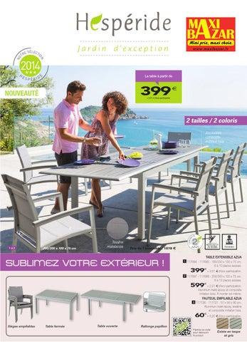 Catalogue hespéride Maxibazar by Maxibazar - issuu