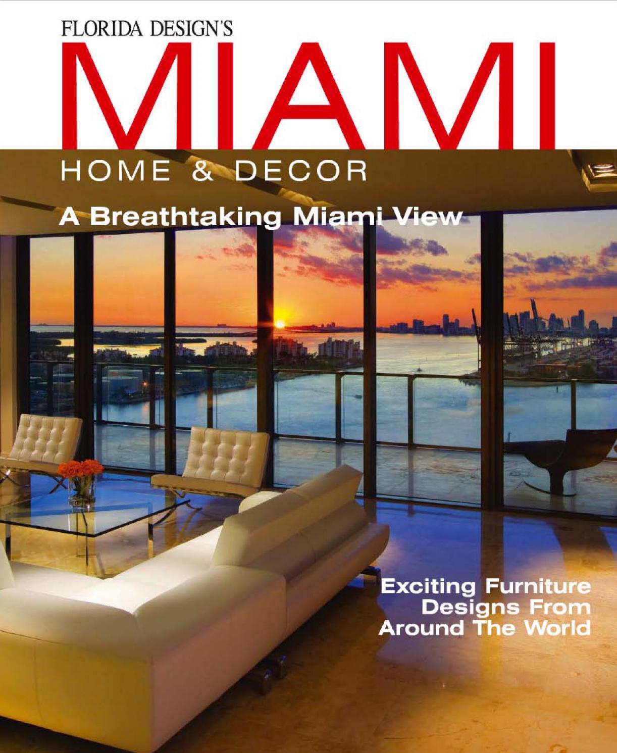 Miami Home Decor 2014 By Britto Charette Issuu