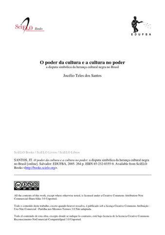 37c750f6092 O poder da cultura e a cultura no poder by Centro Acadêmico de ...