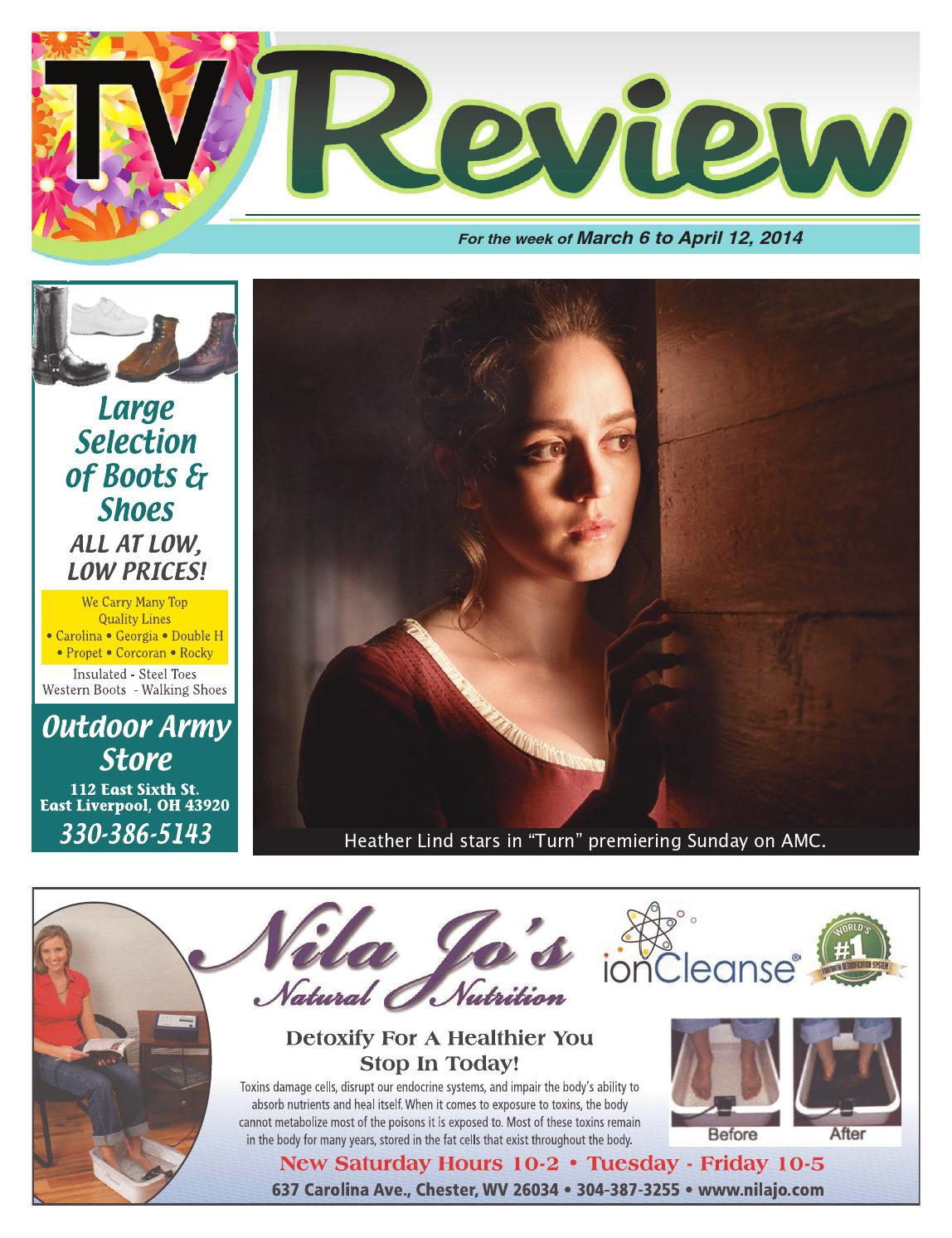 TV Review 4-6-14 by East Liverpool Review - issuu