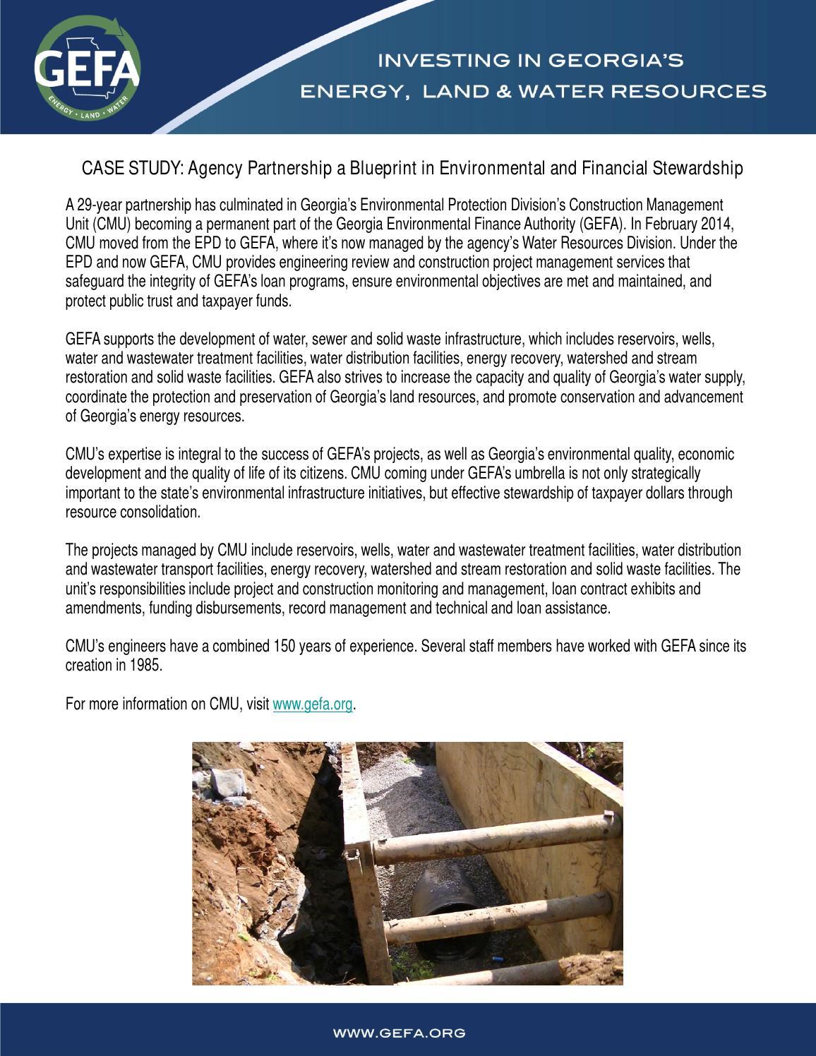 Construction management unit joins gefa by georgia environmental construction management unit joins gefa by georgia environmental finance authority gefa issuu malvernweather Image collections