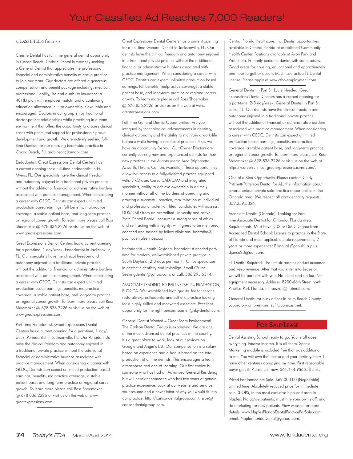 Marchapril 2014 today's fda issuu