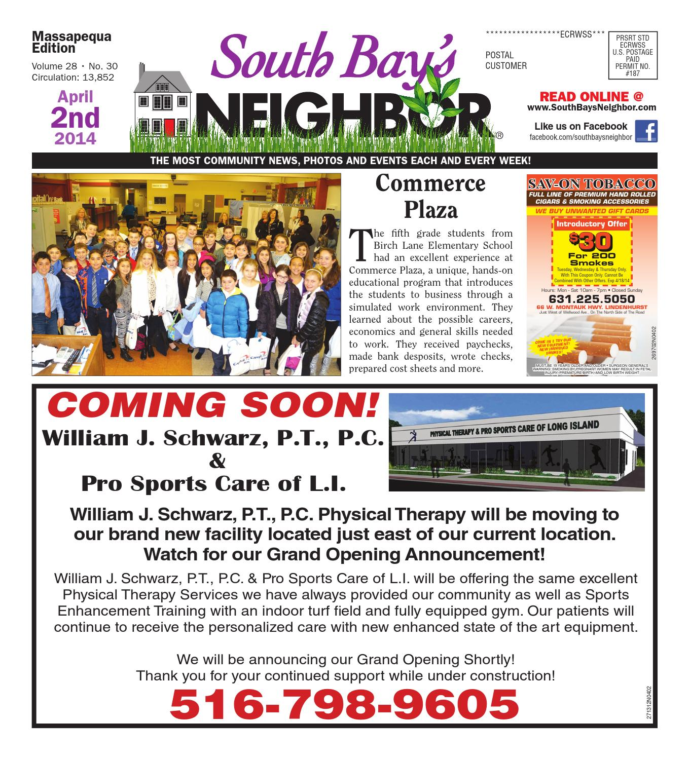 April 2 2014 Massapequa by South Bay s Neighbor Newspapers issuu