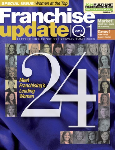 Franchise Update Magazine Issue I 2014 By Franchise Update Media