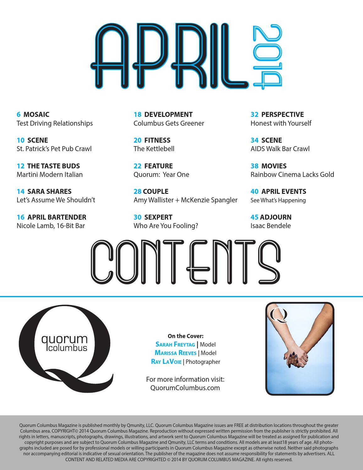 Quorum Columbus April 2014 by Quorum Columbus - issuu