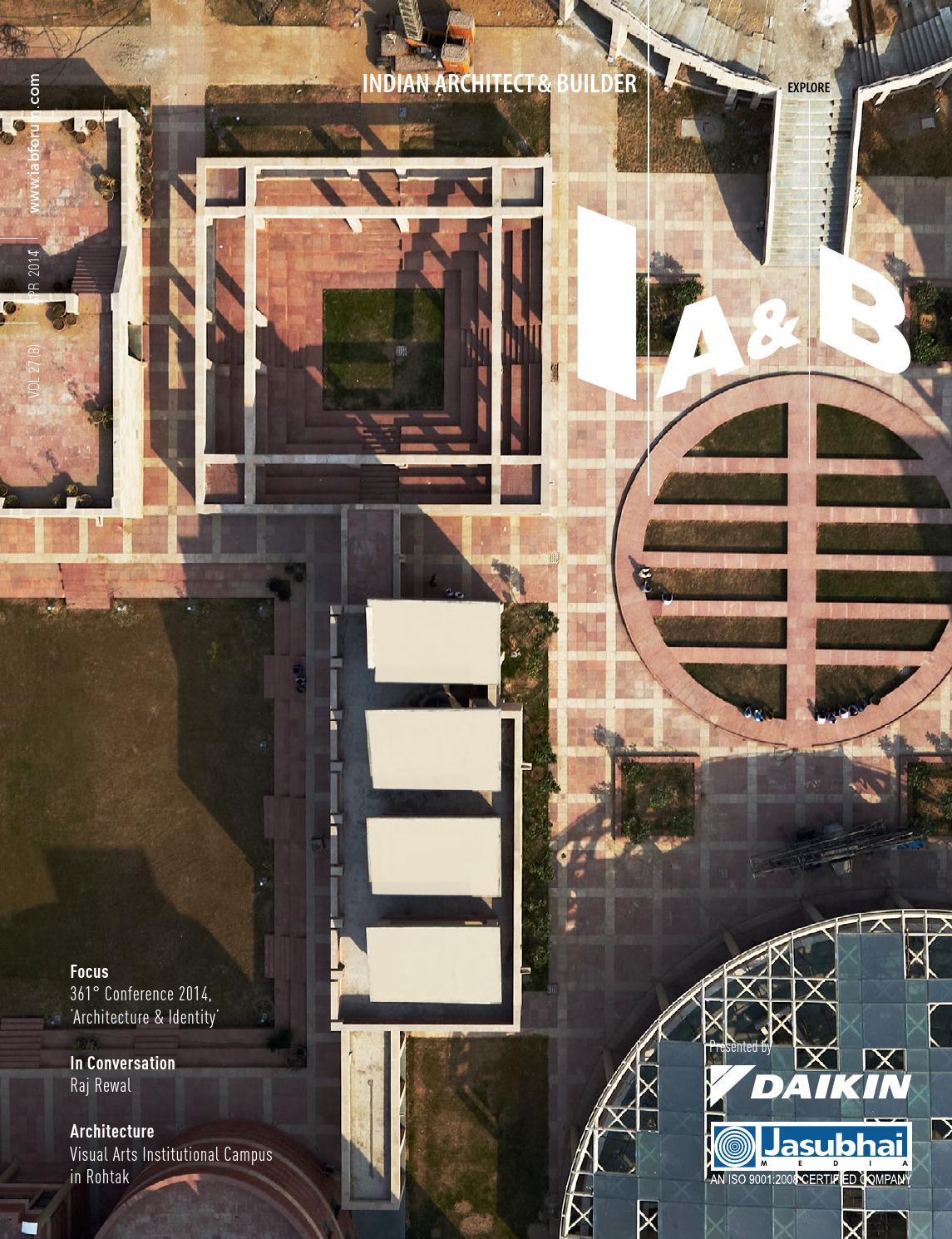 IAu0026B April 2014 by Indian Architect