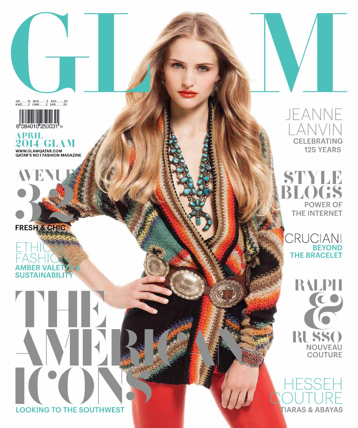 a3cc7dde73a Glam April 2014 by Oryx Group of Magazines - issuu