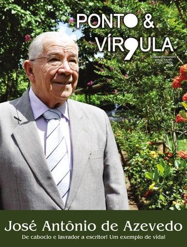 """Cover of """"Revista Ponto & Vírgula - Ano 2 - Edição 13 - Janeiro/Fevereiro 2014"""""""
