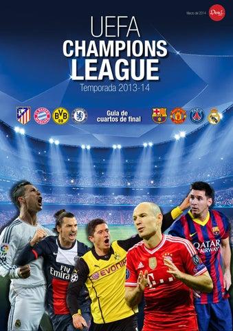 Cuartos de Final Champions League 2013-14 by Renzo Vergara Diaz - issuu