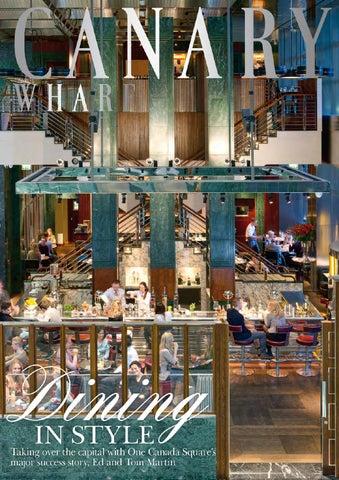 a33b5a473abdf Canary Wharf Magazine April 2014 by Runwild Media Group - issuu