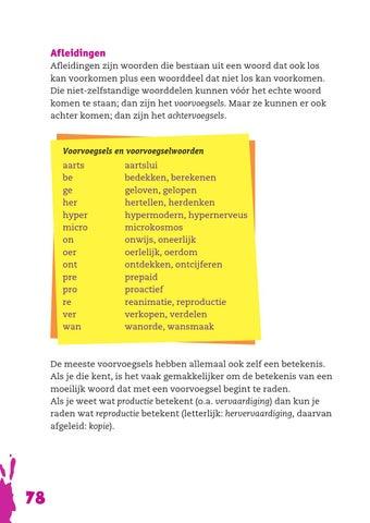 Het Grote Taalboek Overzicht By Donkigotte Issuu
