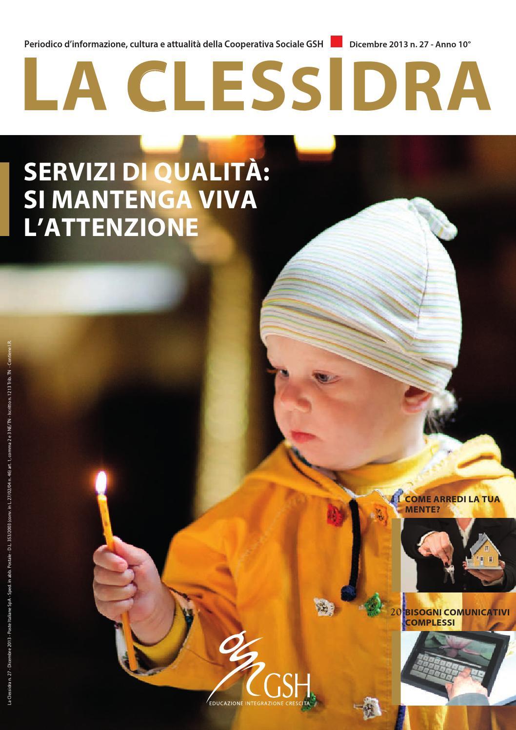 La clessidra n 27 dicembre 2013 by gsh cooperativa - La finestra cooperativa sociale ...