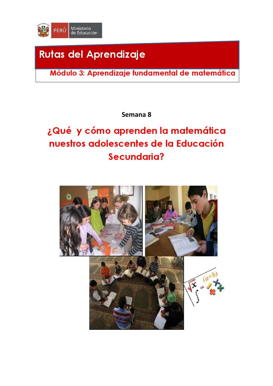 Modulo3 S8 Secundaria Matematica By Carlo Javier Ch S Issuu