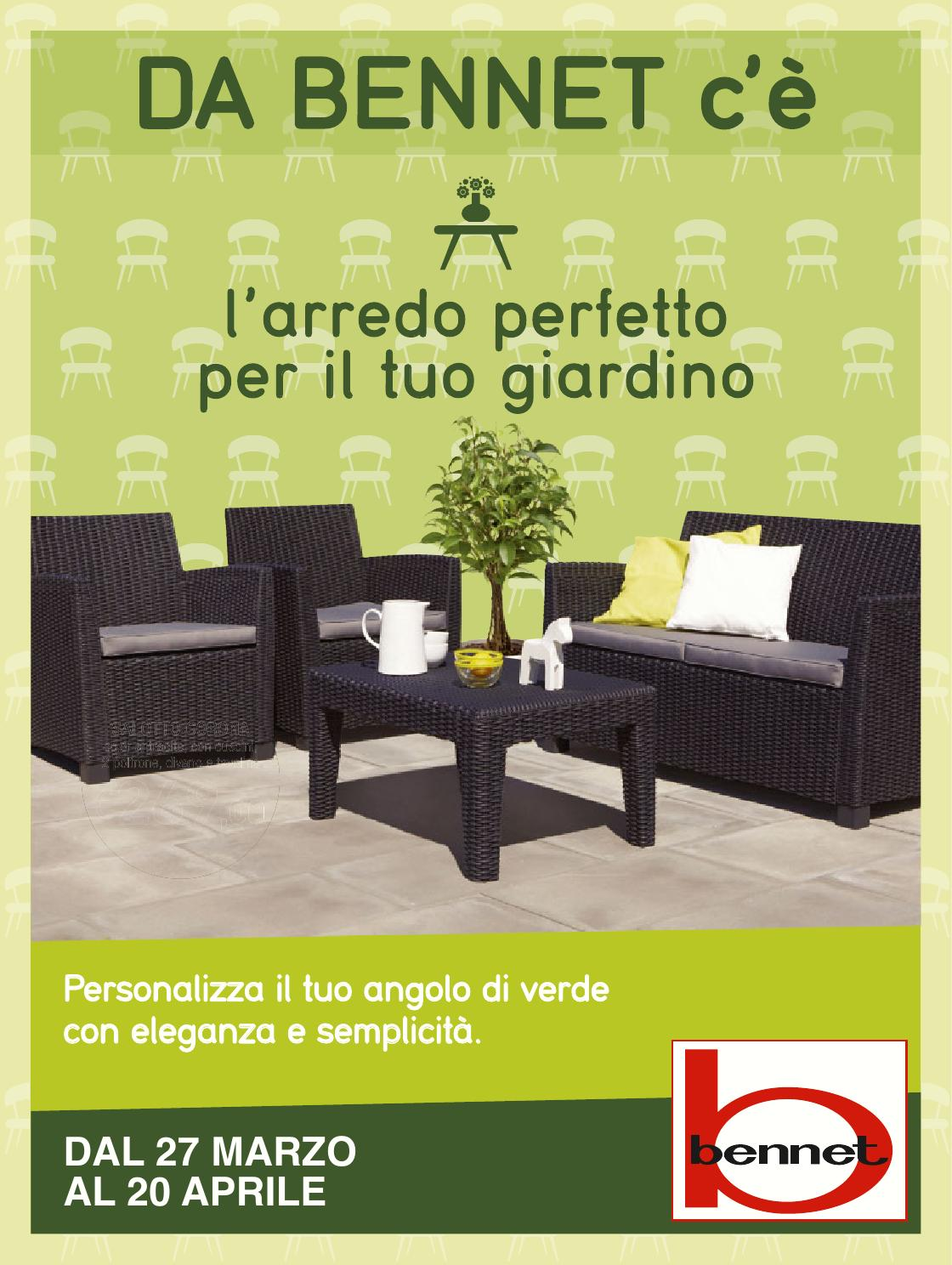 huge discount 8e316 86192 Bennet arredogiardino gen by catalogofree - issuu