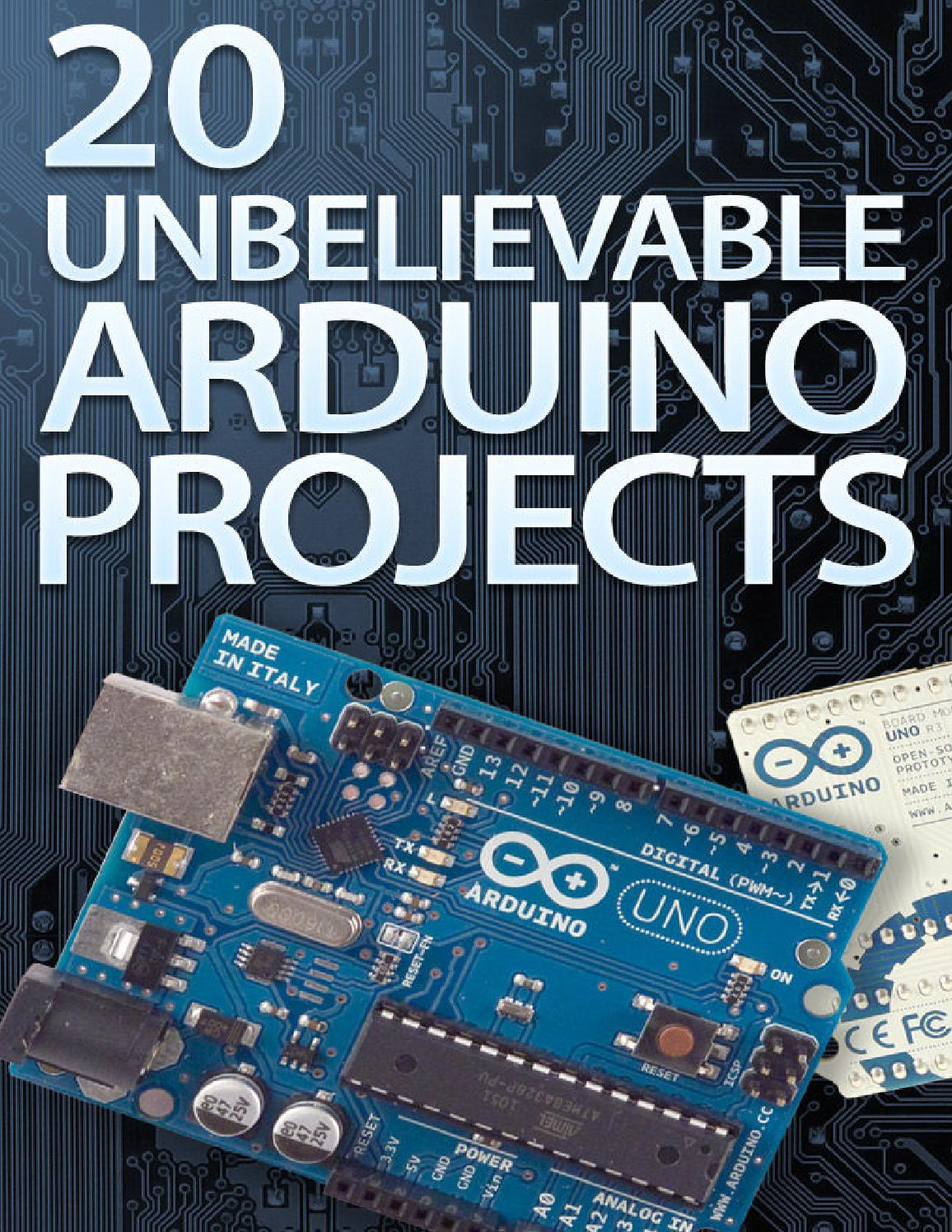20 Unbelievable Arduino Projects By Paginas Web Gratis Issuu Kit K Compatible Microcontroller Atmega328p Breadboard Us Ebay