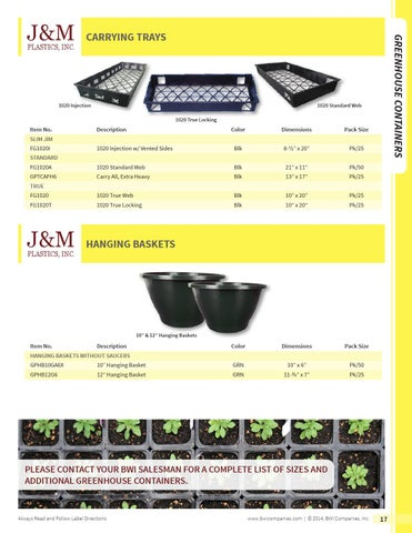 Bwi Professional Grower Supplies By Companies Inc Issuu