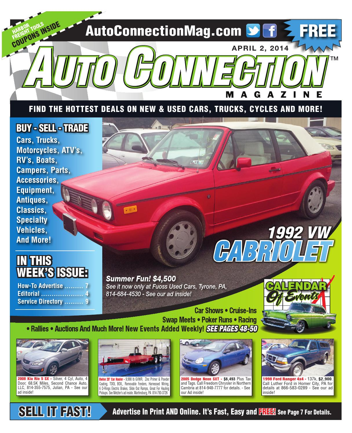 04 02 14 Auto Connection Magazine By Issuu Have A 2003 Kia Sedona Ex My Power Windows No Longer Wor