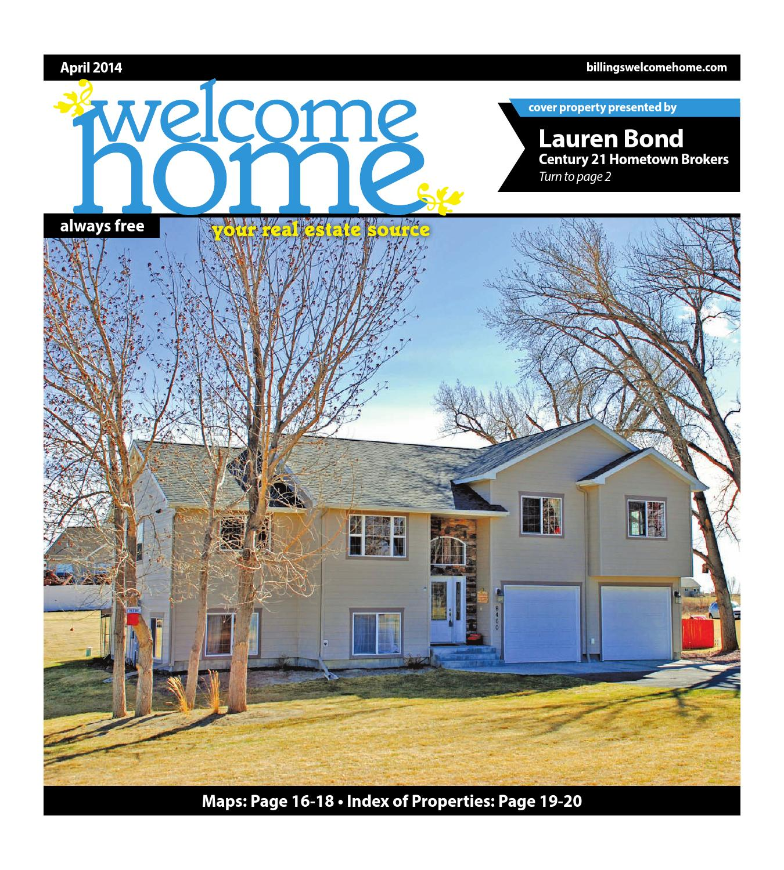 Welcome Home by Billings Gazette - issuu
