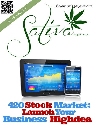 Cannabis Investors And Marijuana Stocks By Sativa Magazine Issuu