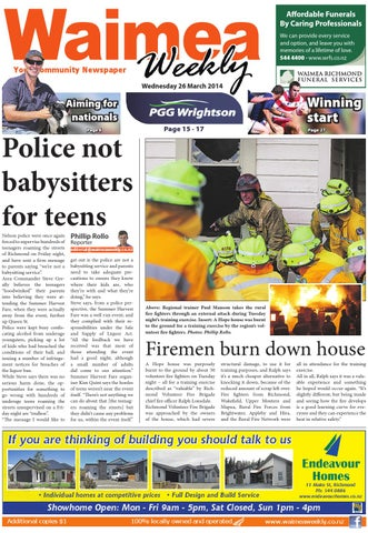 59c63c41f88 Waimea Weekly 02-04-14 by Local Newspapers - issuu