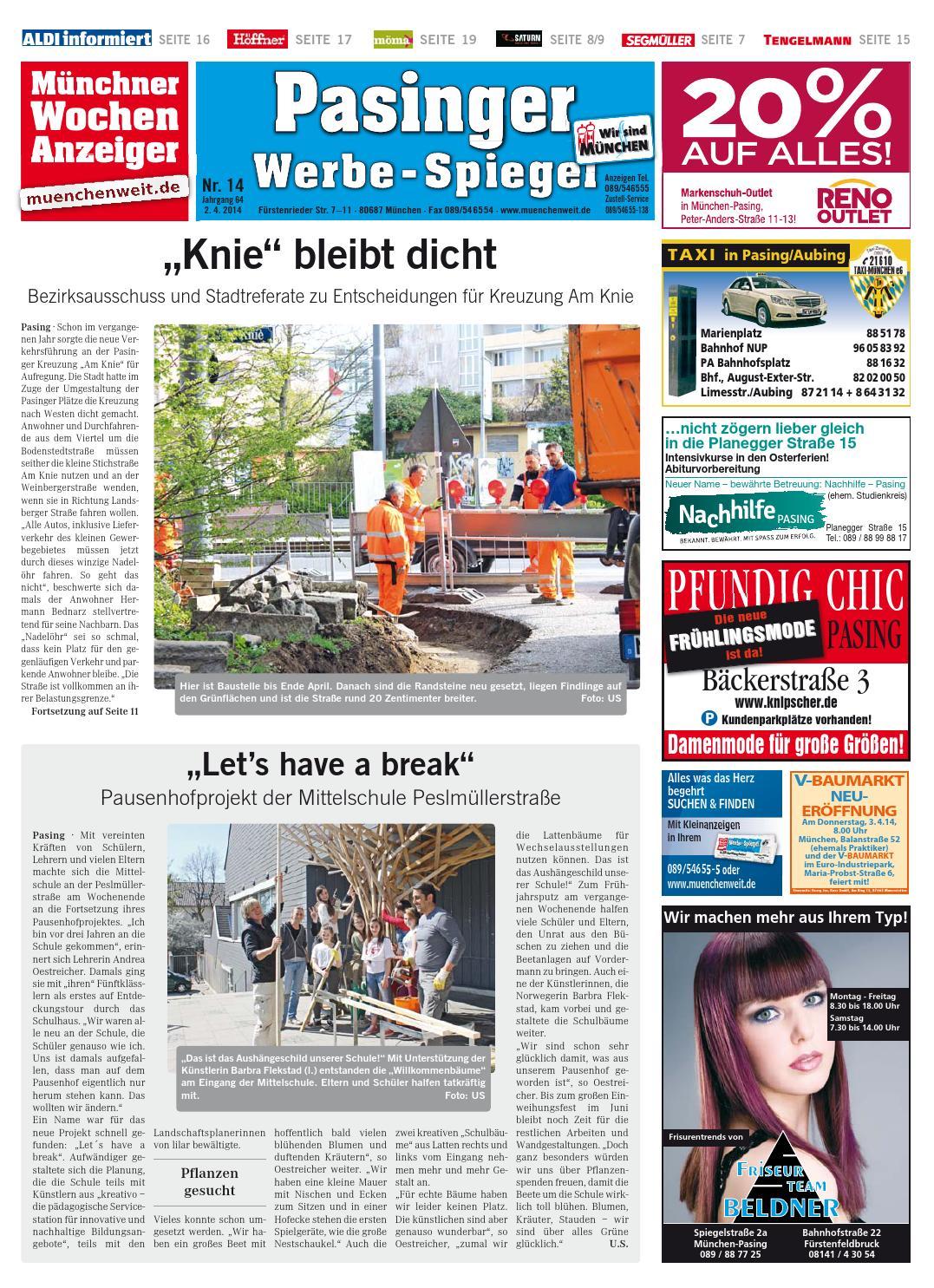 KW 14 2014 by Wochenanzeiger Medien GmbH issuu