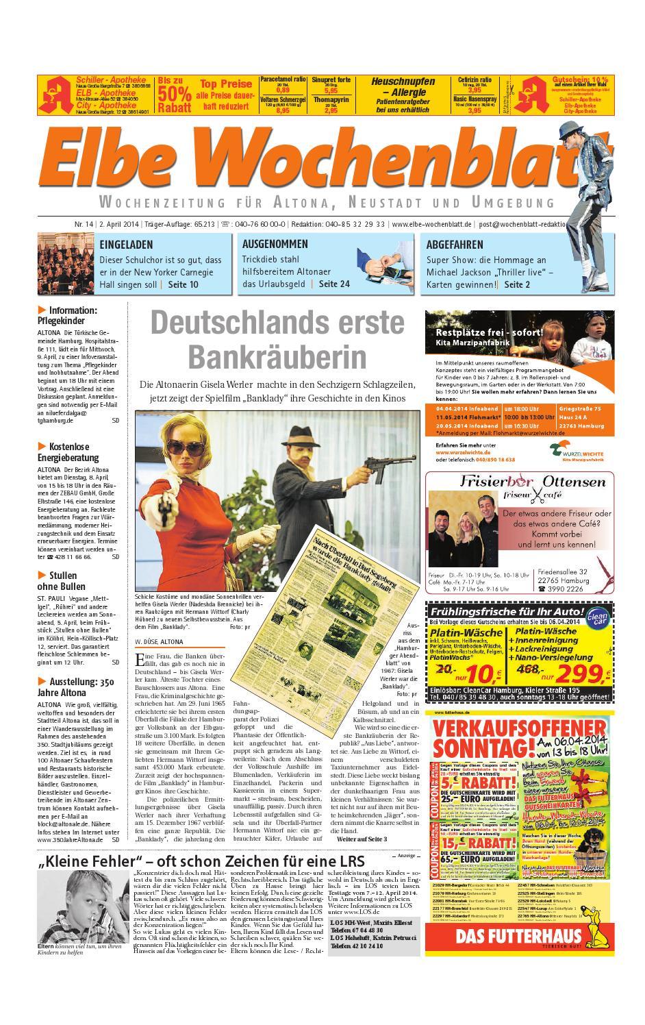 Altona KW14-2014 by Elbe Wochenblatt Verlagsgesellschaft mbH & Co.KG ...