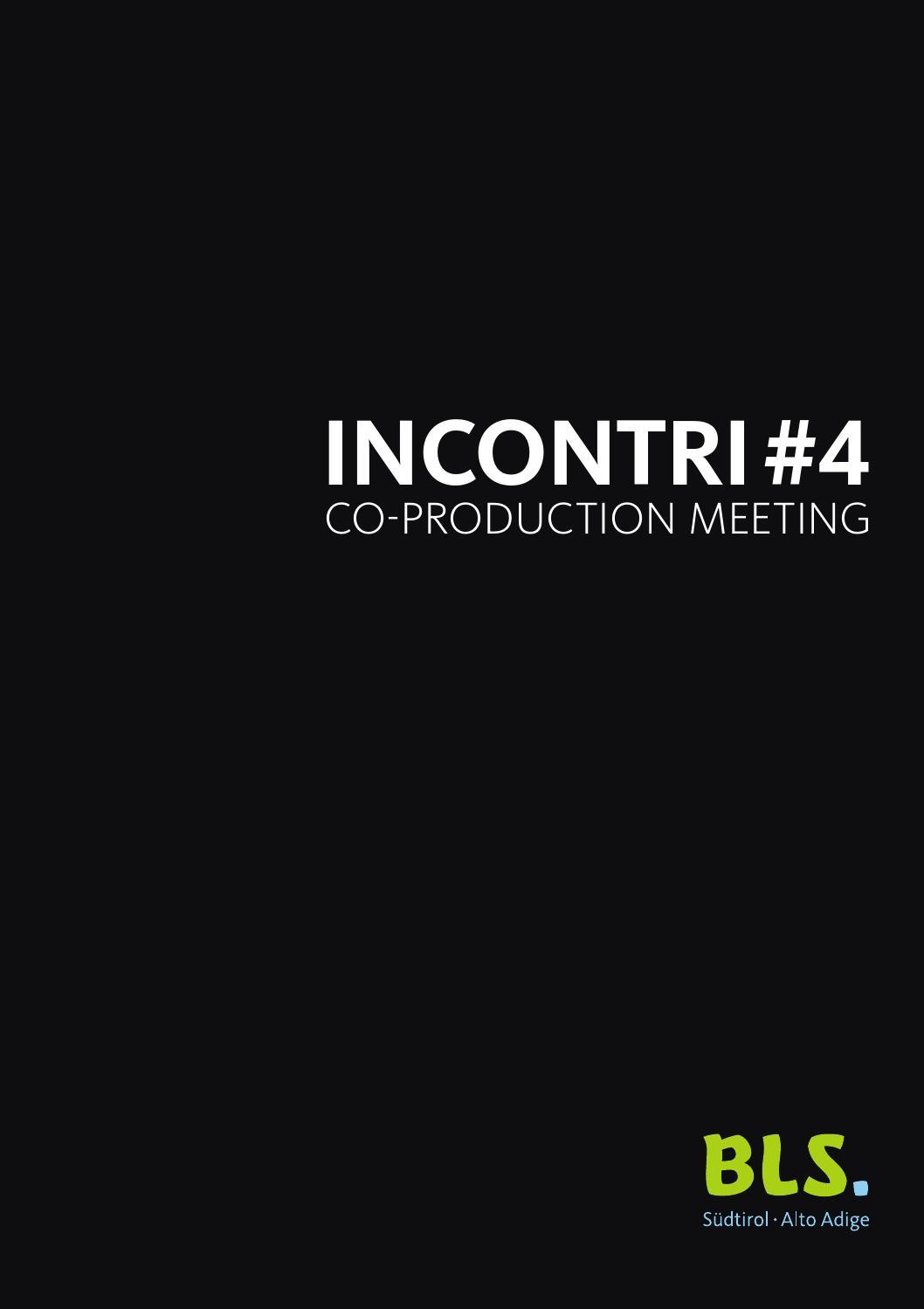 BLS INCONTRI #4 by IDM Film Fund & Commission - issuu