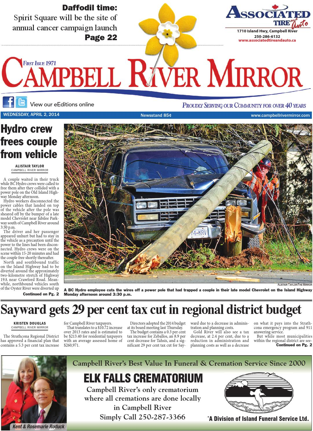 Campbell River Mirror April By Black Press Issuu - What is a deposit invoice rocco's online store