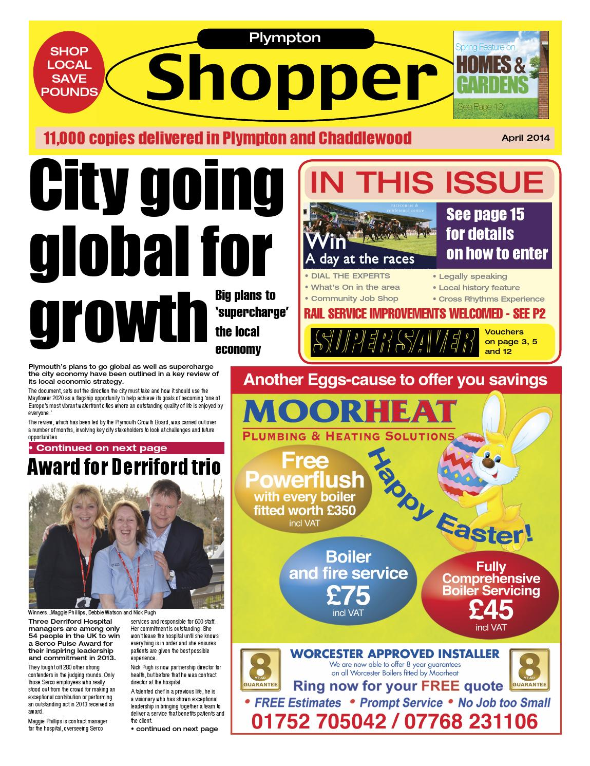 The Plymouth Shopper April 2014 By Cornerstone Vision