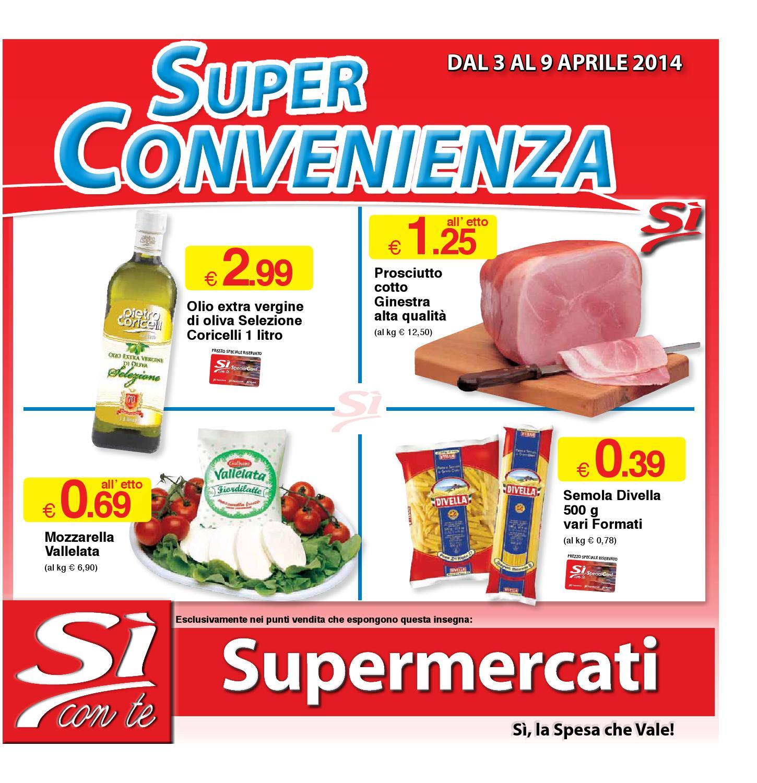 volantino s supermercati super convenienza dal 3 aprile
