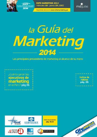 Guia del Marketing 2014 by Moises Chavez - issuu 812f5367bcd55