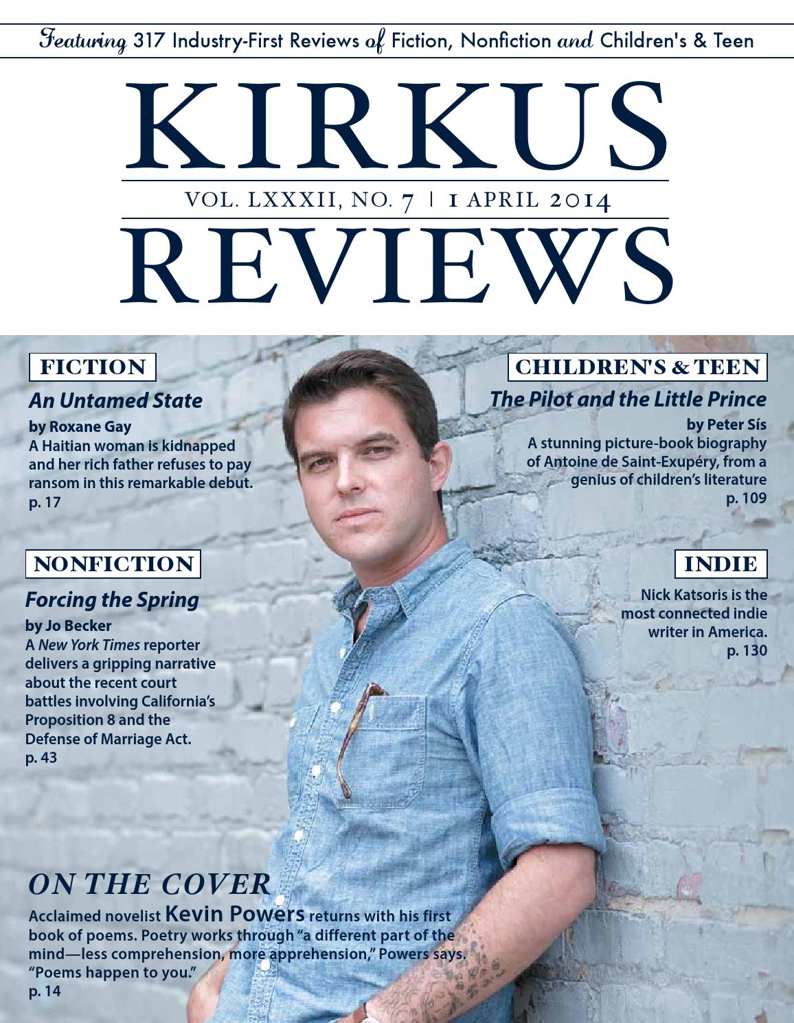 April 01 2014 Volume Lxxxii No 7 By Kirkus Reviews Issuu Diagram Nick Boogers
