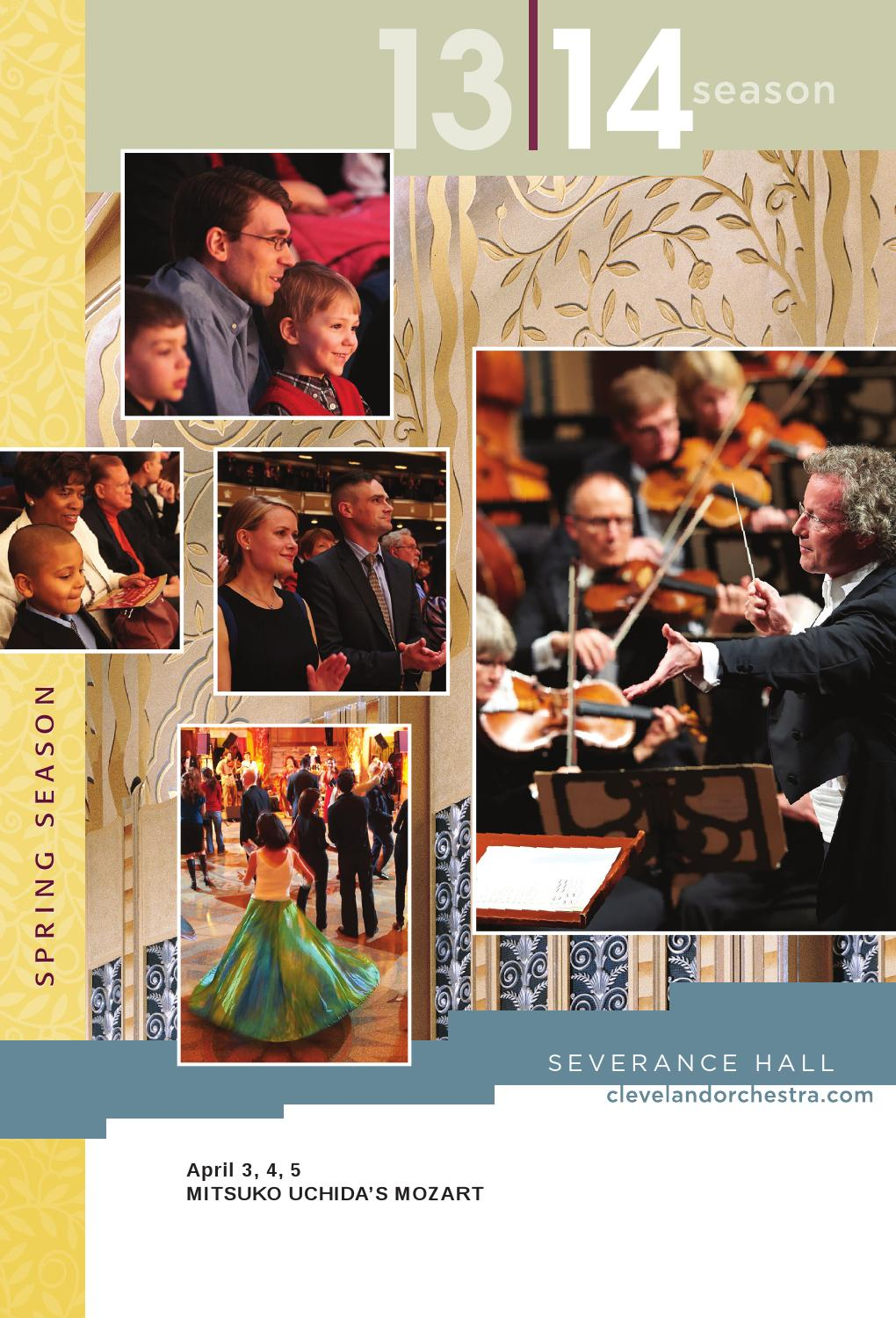 The Cleveland Orchestra April 3 5 Concerts By Live