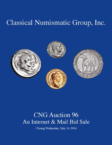 d9ba47360f2 CNG 96 Virtual Catalog by Classical Numismatic Group
