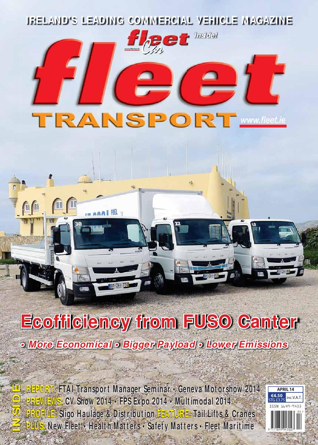 Attractive Fleet Transport April 2014 By Orla Sweeney   Issuu