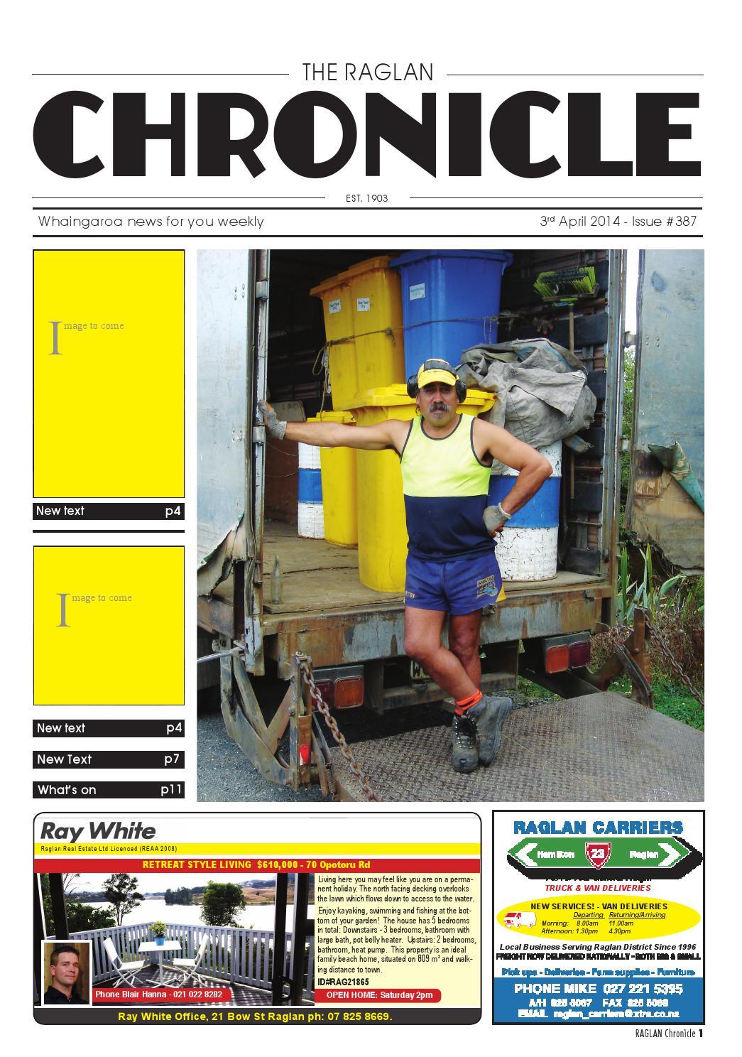 db61cd64f7742d Raglan Chronicle by Raglan Chronicle - issuu