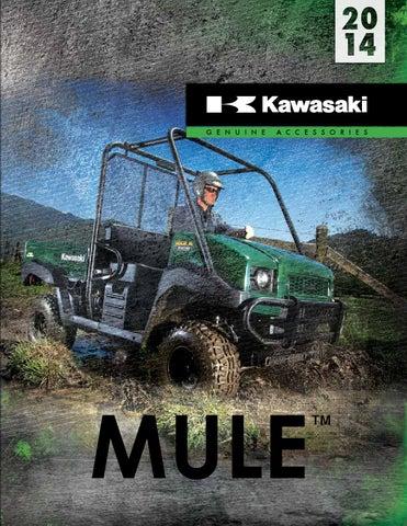 KAWASAKI MULE 4010 4000 HITCH 2 KAF138