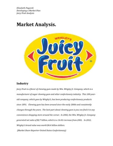 marketing and sales strategy of juicy fruit smoothies The smoothie bar boasts high quality, real fruit, protein smoothies made fresh at an affordable price with the option to customize any smoothie to any customer's health and nutrition needs.