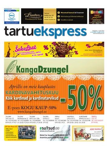 0ea4084b981 Tartu Ekspress, 3.04.2014 by Tartu Ekspress - issuu