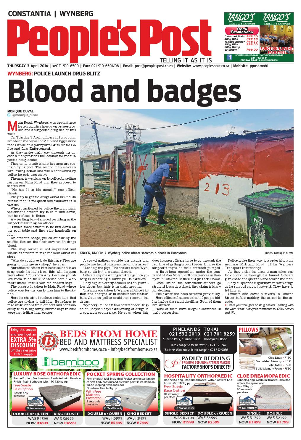 Peoples post constantia 3 apr 2014 by People's Post - issuu