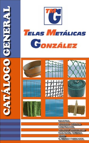 Telas metalicas gonzalez s l by alberto gonzalez menezo for Seto redondo artificial