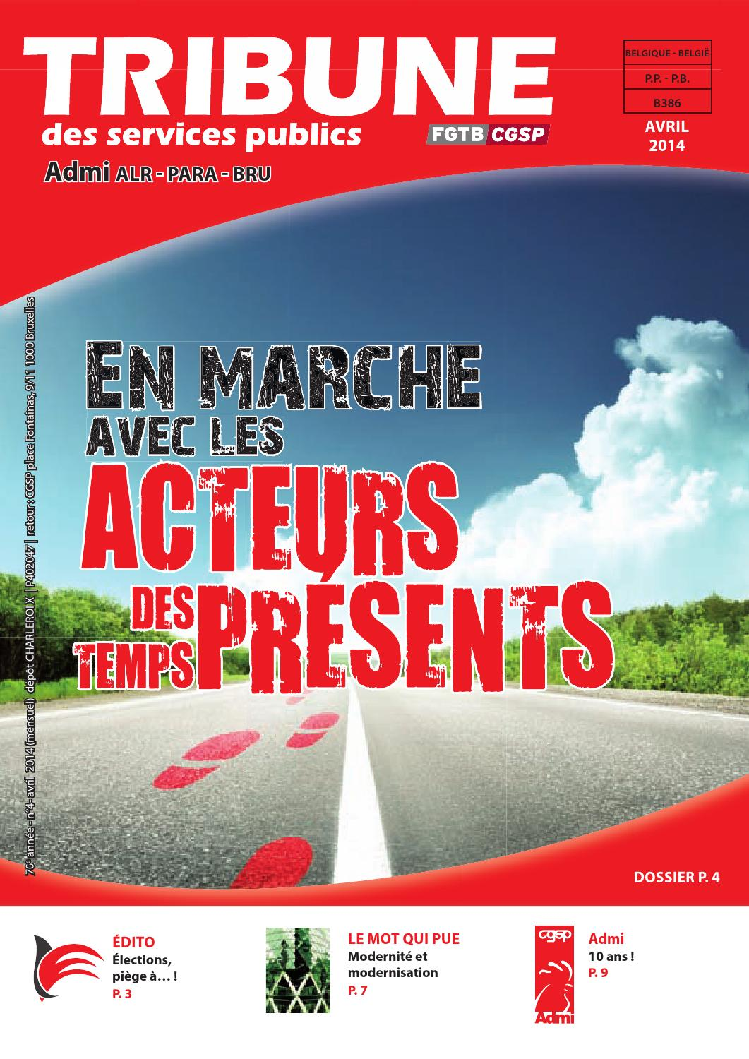 admi web avril 2014 by cgsp wallonne