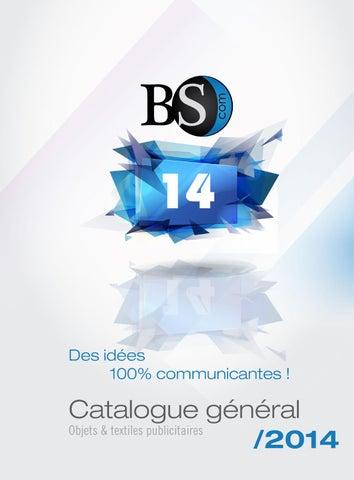 c7e56b5061 Catalogue général BScom og4 2014 by Objectif Goodies - issuu
