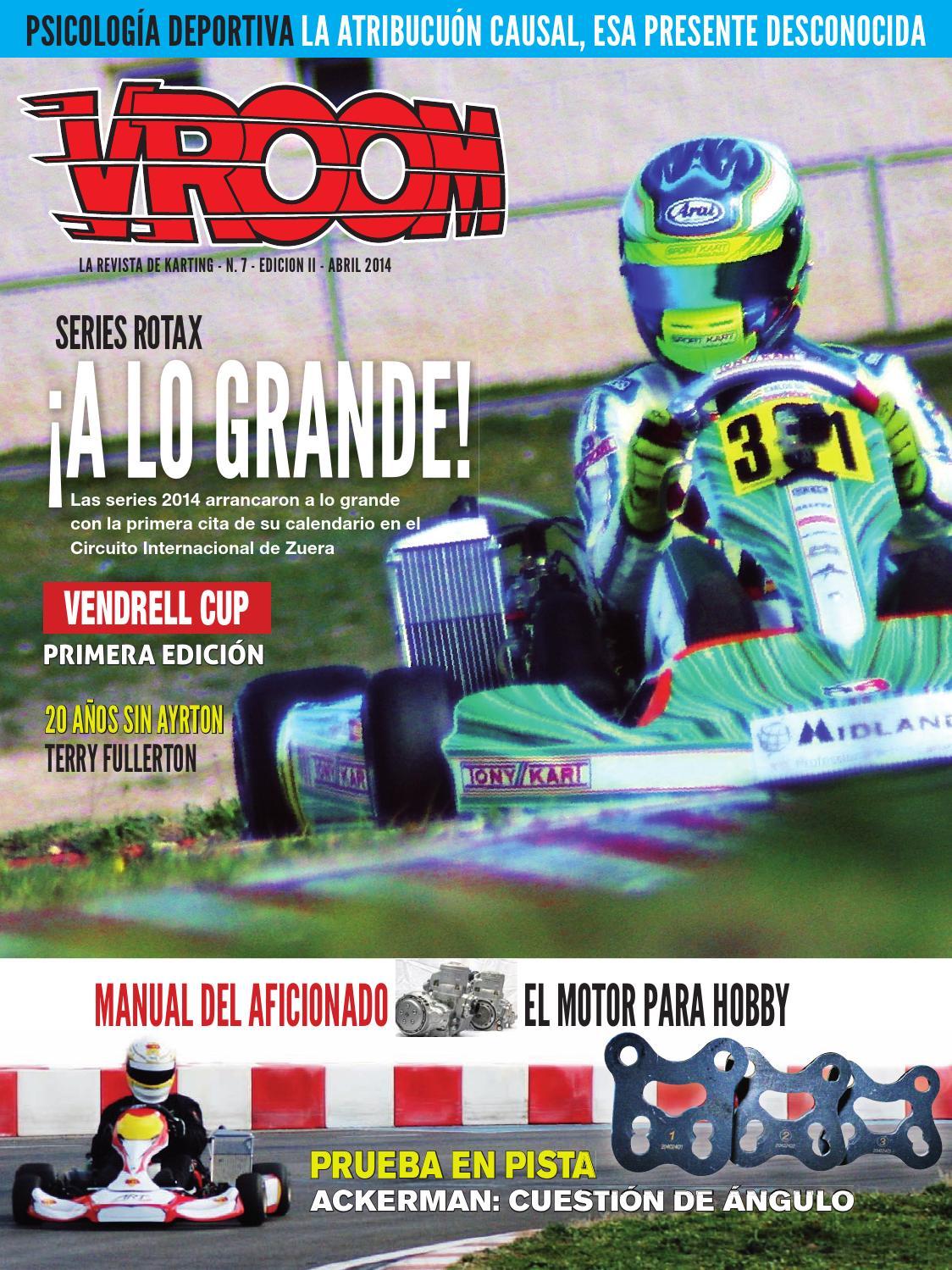 Vroom Spain N 7 by Vroom Kart Spain - issuu