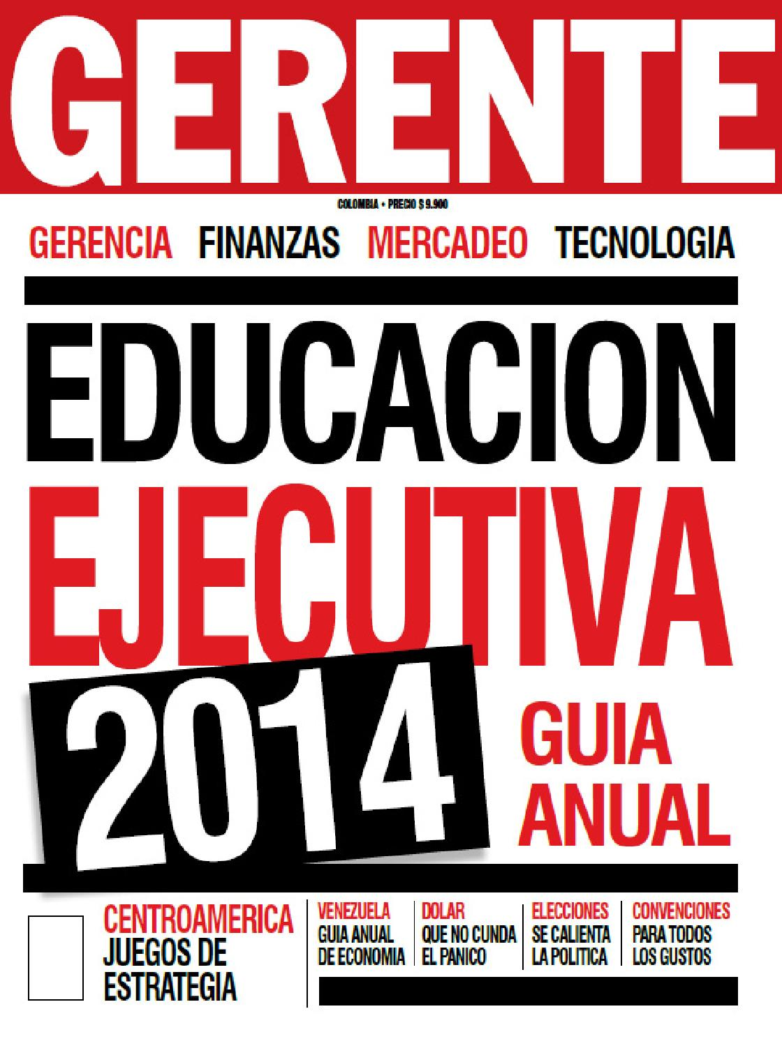 Revista Gerente Colombia 189 by Zulay Rodríguez - issuu