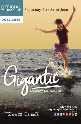 Saguenay-Lac-Saint-Jean - OfficialTourist Guide 2014-2015 by ...