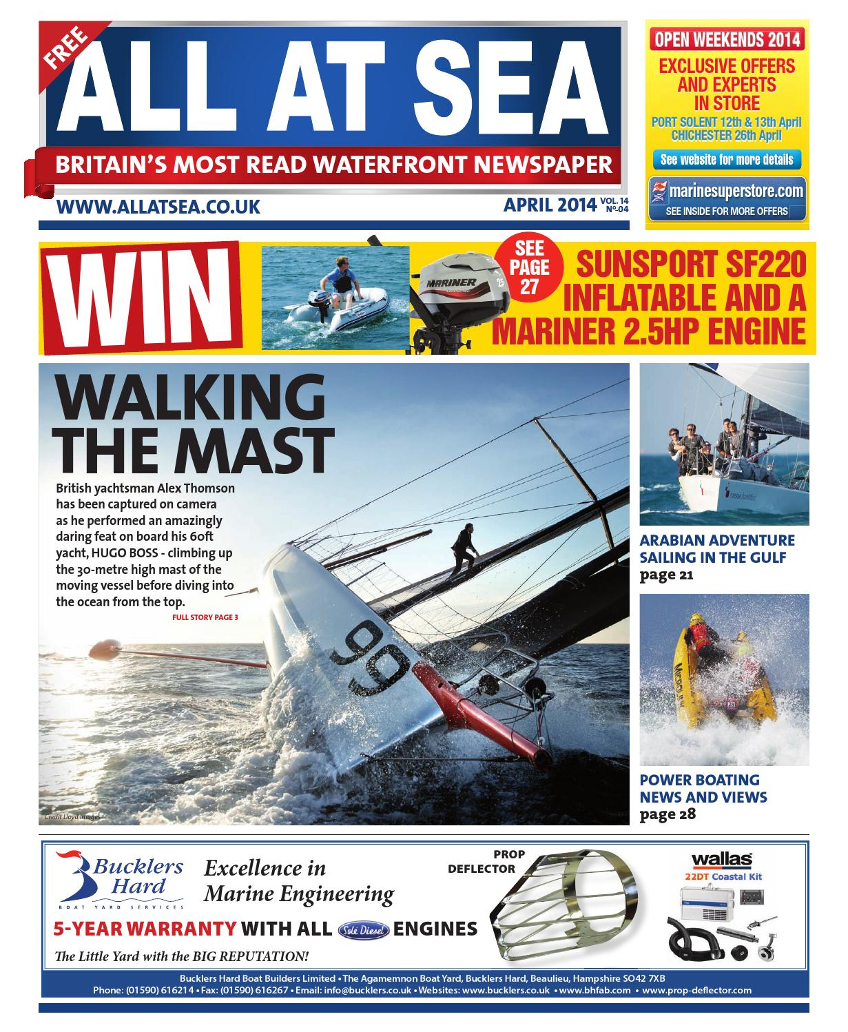 All At Sea April 2014 by All At Sea - issuu