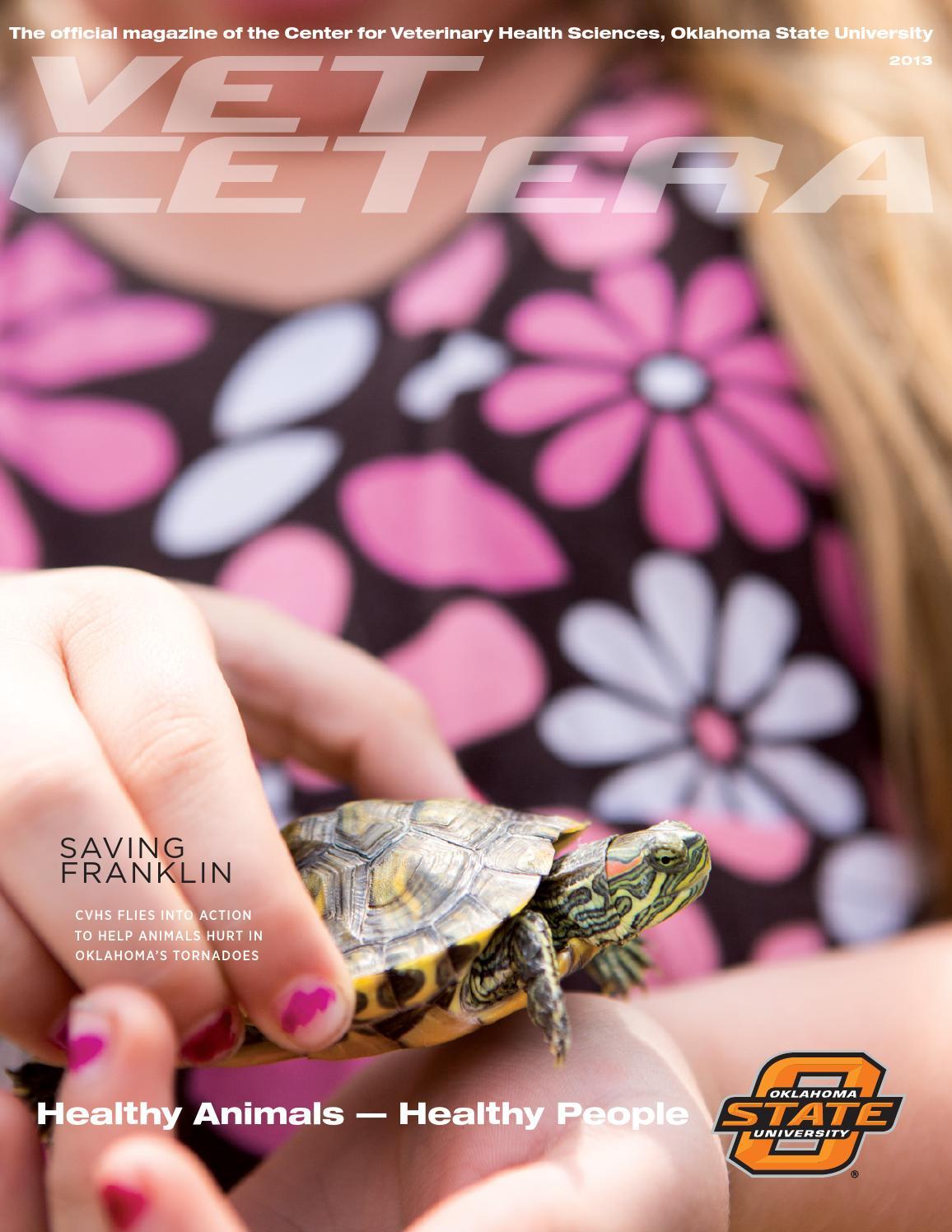 Vet cetera magazine 2013 by Oklahoma State - issuu