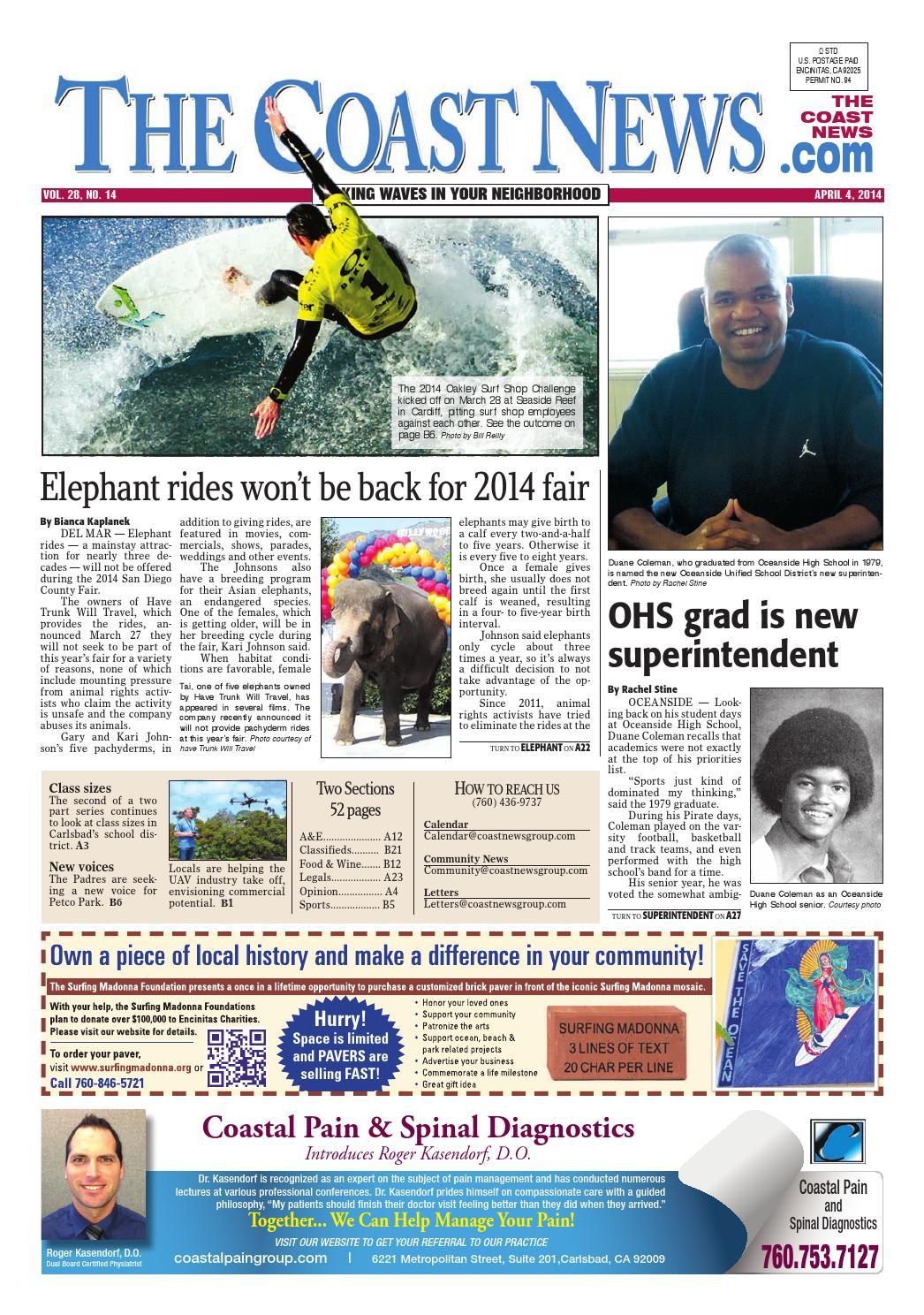 567c5160d3 The coast news 2014 04 04 by Coast News Group - issuu
